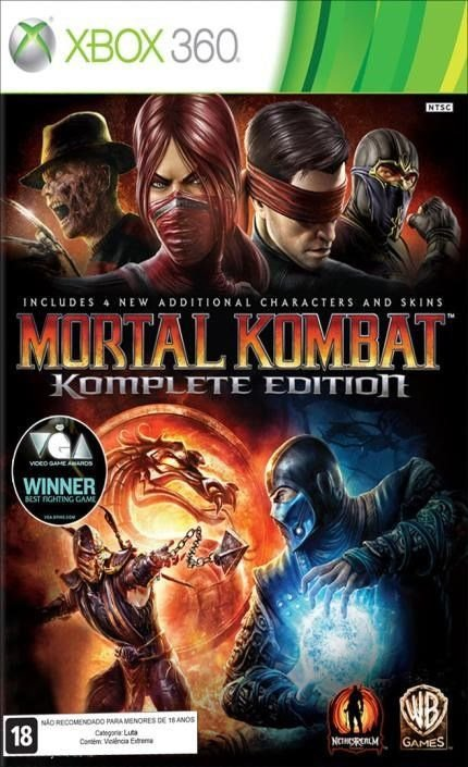 Jogo Mortal Kombat Komplete Edition- Xbox 360 - Seminovo