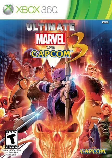 Jogo Ultimate Marvel Vs Capcom 3 - Xbox 360 - Seminovo