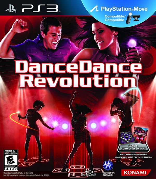 Jogo Dance Dance Revolution com Tapete - PS3 - Seminovo