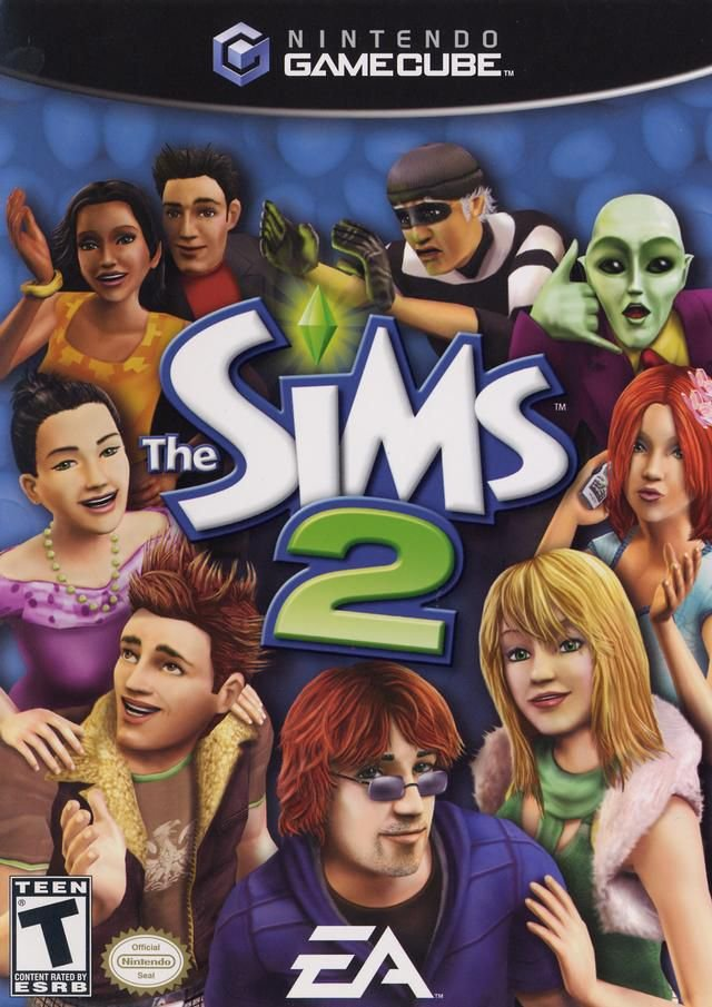 Jogo The Sims 2 - Game Cube - Seminovo
