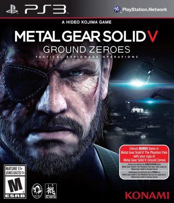 Jogo Metal Gear Solid V: Ground Zeroes - PS3 - Seminovo
