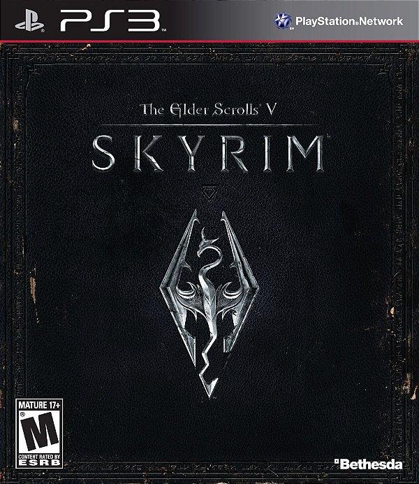 Jogo The Elder Scrolls V Skyrim - PS3 - Seminovo