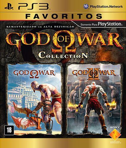 Jogo God Of War Collection ( Embalagem Cartão) - PS3 - Seminovo