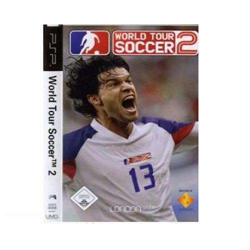 Jogo World Tour Soccer 2 - PSP - Seminovo