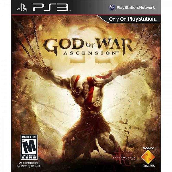 Jogo God Of War Ascension- PS3 - Seminovo