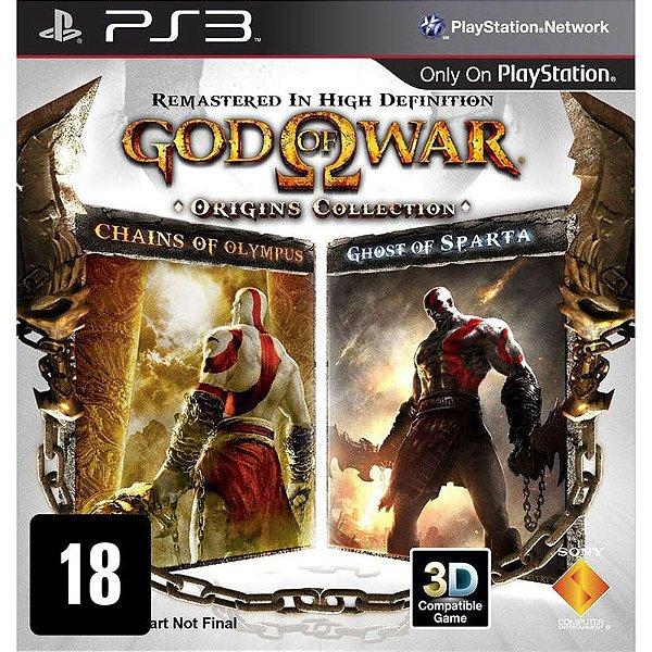 Jogo God Of War Origins Collection - PS3 - Seminovo