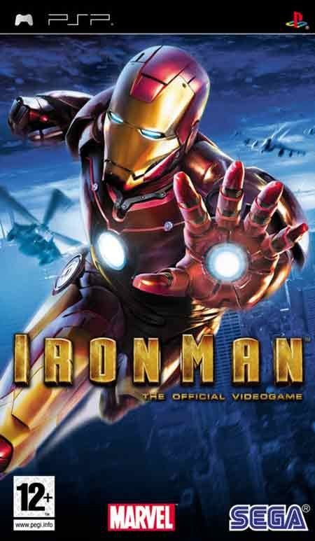 Jogo Iron Man - PSP - Seminovo