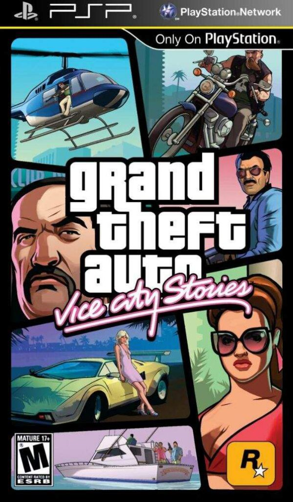 Jogo Grand Theft Auto Vice City Stories - PSP - Seminovo