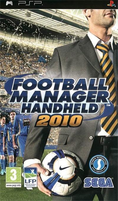 Jogo Football Manager Handheld 2010 - PSP - Seminovo