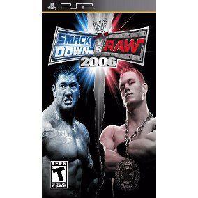 Jogo Smackdown Vs Raw 2006 - PSP - Seminovo
