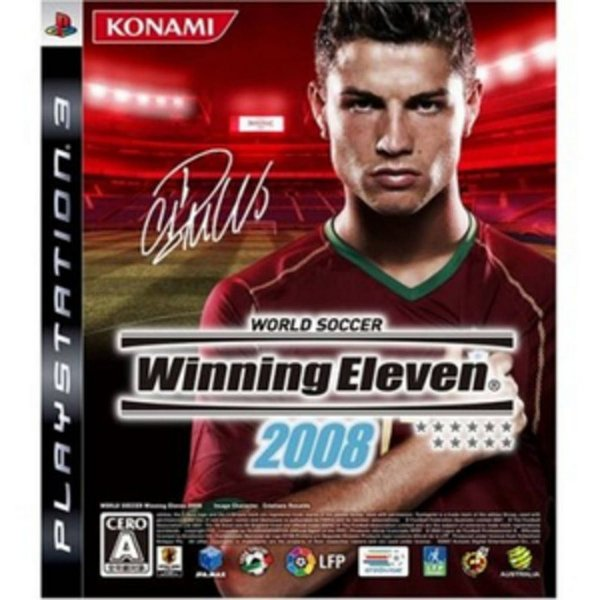 Jogo World Soccer Winning Eleven 2008 - PS3 - Seminovo