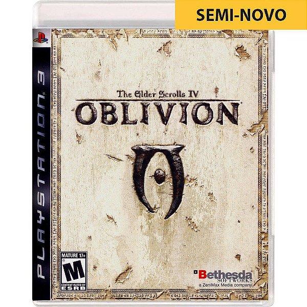 Jogo The Elder Scrolls IV - PS3 - Seminovo