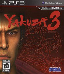 Jogo Yakuza 3 - PS3 - Seminovo
