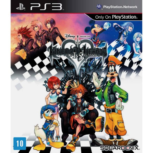 Jogo Kingdon Hearts HD 1.5 Remix - PS3 - Seminovo
