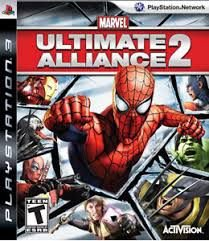 Jogo Marvel Ultimate Alliance 2 - PS3 - Seminovo
