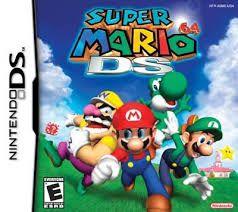 Jogo Super Mario 64 DS - Nintendo DS - Seminovo