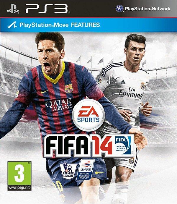 Jogo Fifa Soccer 14 - PS3 - Seminovo