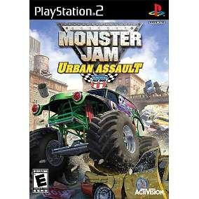 Jogo Monster Jam Urban Assault - PS2 - Seminovo