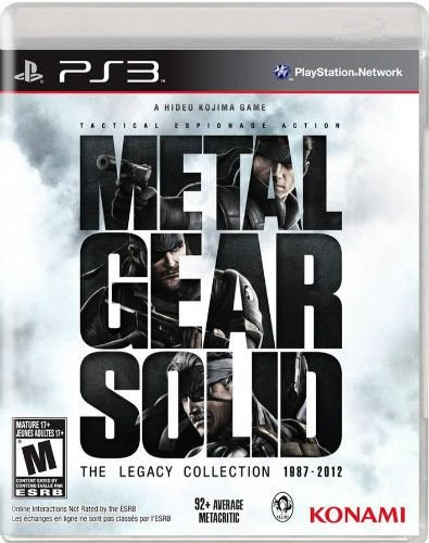 Jogo Metal Gear Solid The Legacy Collection Ps3 - Seminovo