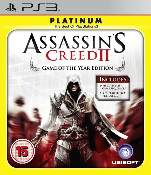 Jogo Assassin's Creed II Platinum- PS3 - Seminovo