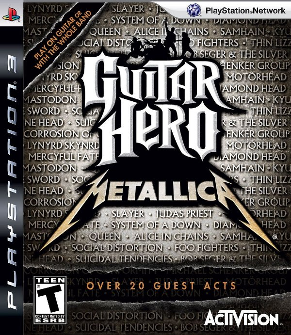Jogo Guitar Hero Metallica - PS3 - Seminovo