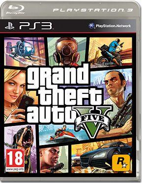 Jogo GTA 5 - PS3 - Seminovo