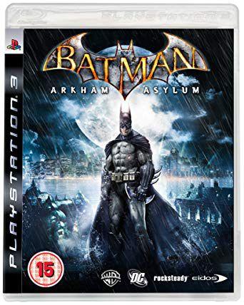 Jogo Batman Arkham Asylum - PS3 - Seminovo