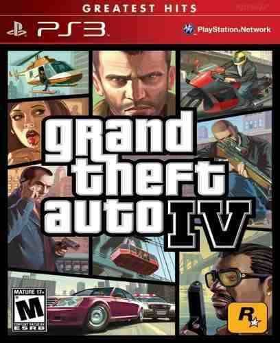Jogo GTA 4 - PS3 - Seminovo
