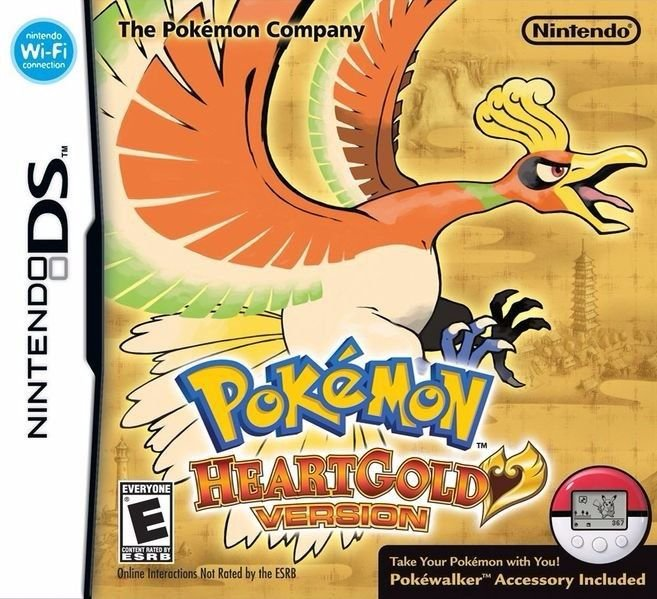 Jogo Pokémon Heart Gold Version - Nintendo DS - Seminovo