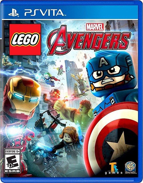 Jogo Lego Marvel Avengers - PS Vita - Novo