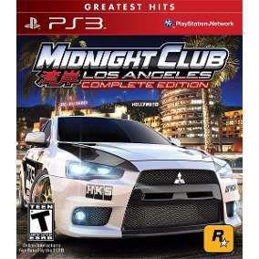 Jogo Midnight Club Los Angeles Complete Edition - PS3 - Seminovo