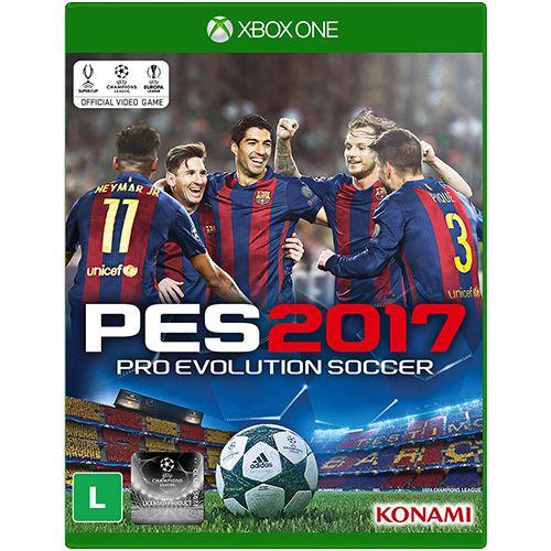 Usado:Pro Evolution Soccer 2017 - Xbox One