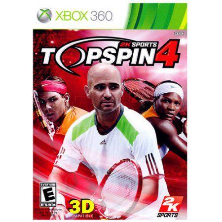 Jogo Top Spin 4 - Xbox 360 - Seminovo