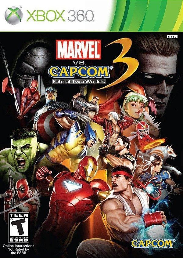 Jogo Marvel VS Capcom 3 Fate of Two Worlds - Xbox 360 - Seminovo