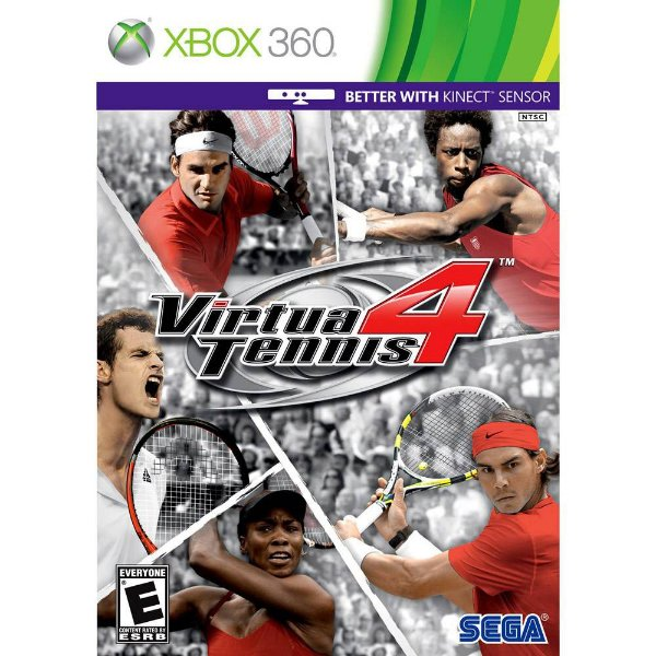 Jogo Virtua Tennis 4 - Xbox 360 - Seminovo