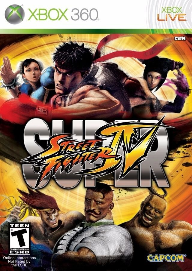 Jogo Super Street Fighter IV - Xbox 360 - Seminovo