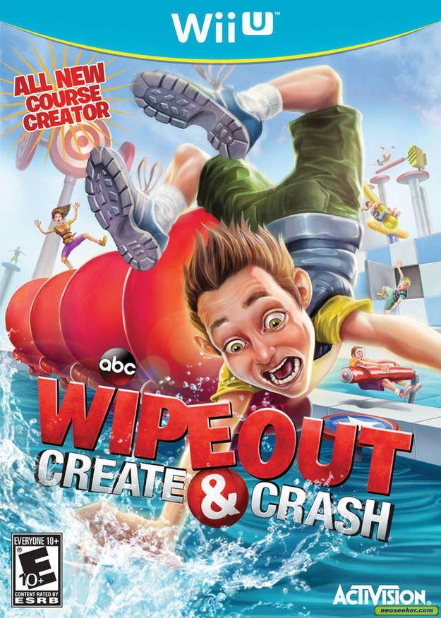Jogo Wipeout Create & Crash - Wii U - Seminovo