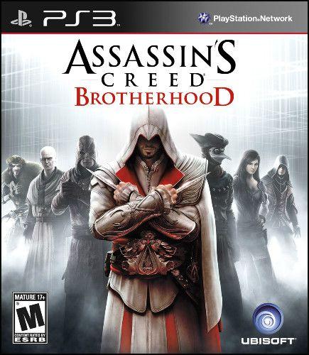 Jogo Assassins Creed Brotherhood The Best Edition- PS3 - Seminovo