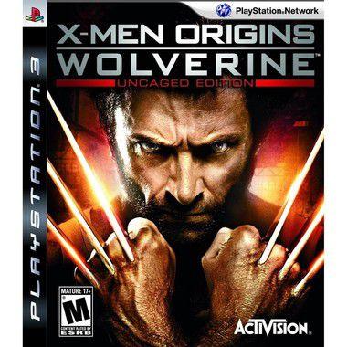 Jogo X-Men Orgins Wolverine- PS3 - Seminovo