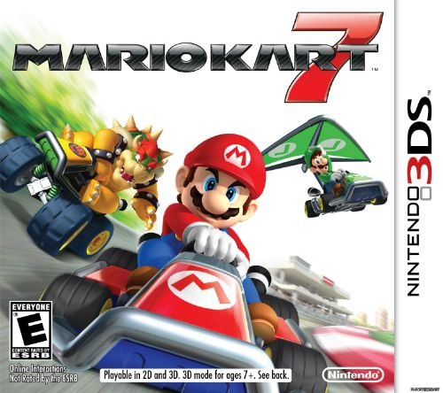 Jogo Mario Kart 7 [sem capa] - Nintendo 3DS - Seminovo
