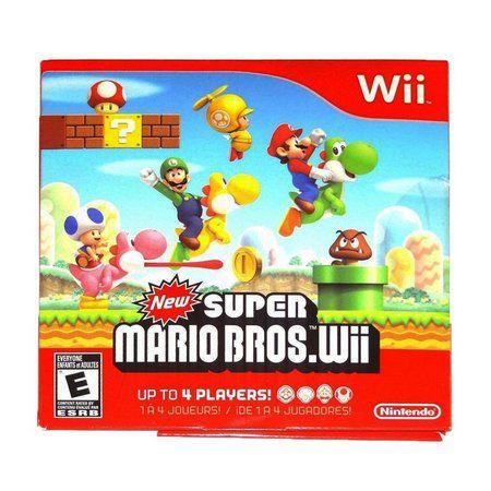 Jogo New Super Mario Bros [sem capa] - Wii - Seminovo