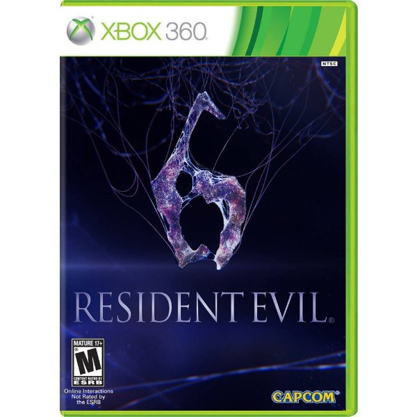 Jogo Resident Evil 6 - Xbox 360 - Seminovo