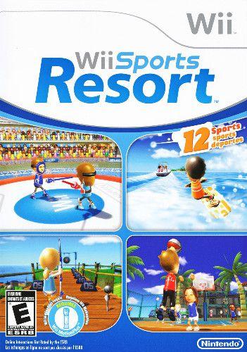 Jogo Wii Sports Resort- Nintendo - Seminovo