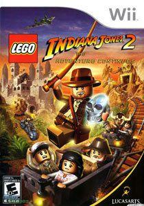 Jogo Lego Indiana Jones 2: The Adventure Continues- Wii - Seminovo
