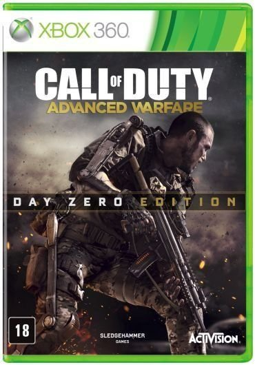 Jogo Call Of Duty Advanced Warfare Edição Day Zero - Xbox 360 - Seminovo