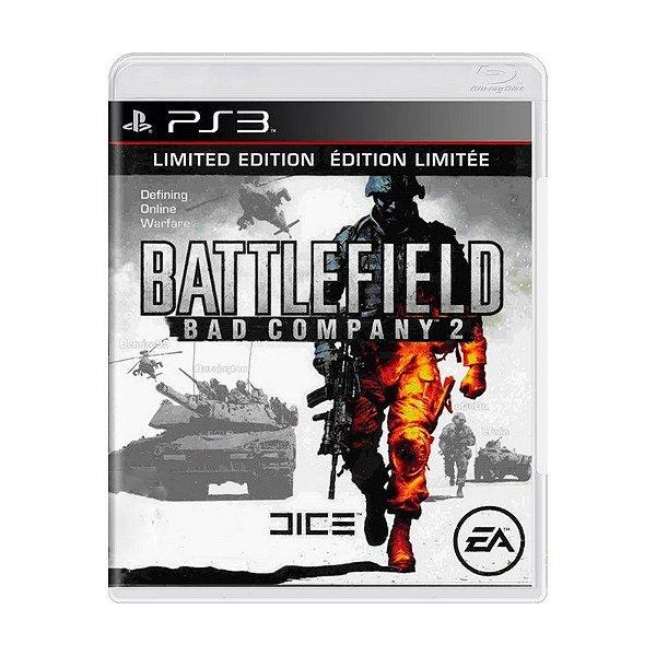 Jogo Battlefield Bad Company 2 - PS3 - Seminovo