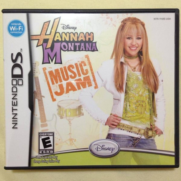 Jogo Hannah Montana Music Jam - Nintendo DS - Seminovo