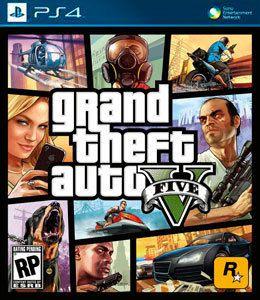Jogo GTA 5 - PS4 - Seminovo