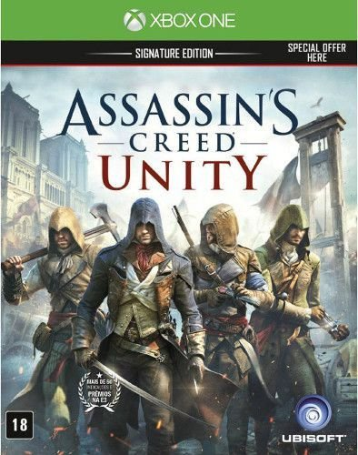 Usado: Jogo Assassin's Creed Unity - Signature Edition - Xbox One