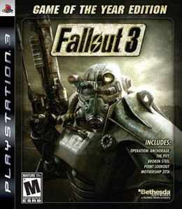 Jogo Fallout 3 :Game Of The Year Edition - PS3 - Seminovo